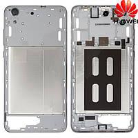 Средняя часть корпуса для Huawei Y6 2, черная, оригинал