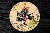 Годинник ручної роботи ворона