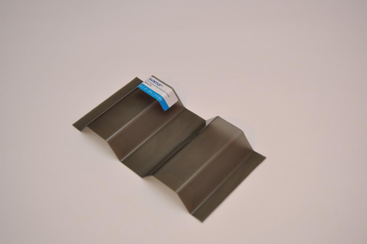Поликарбонат SUNTUF Greca76 Bronze 55% LT 1260x3000 мм