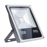 Светодиодный прожектор желтый (30 Вт, IP65)