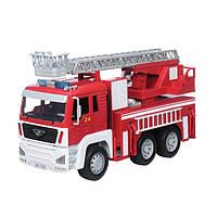 Автомодель Driven Standard - Пожарная машина со светом и звуком, водяной помпой (WH1001Z)