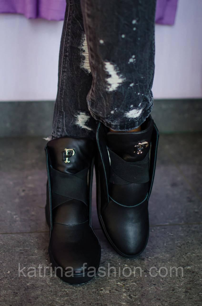 d2e3e891ccf1 Женские стильные кожаные осенние ботинки