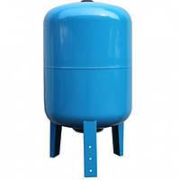 Бак для насосной станции на 100 литров, Гидроаккумулятор  Hidroferra STV 100 (вертикальный)