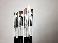 Набор кистей для дизайна ногтей Starlet ( кисти старлет )