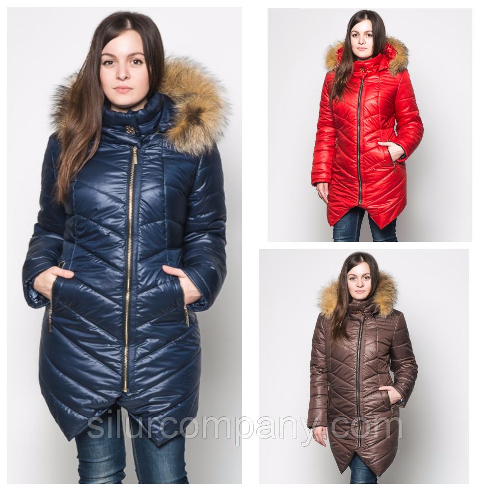 Зимняя женская куртка удлиненная  продажа, цена в Киеве, в Харькове ... 6ca4f08414d