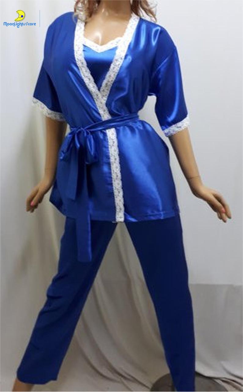 Пижама женская атласная 63ca0e9d5a582