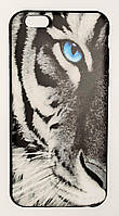 Чехол на Айфон 6/6s ТПУ New Design белый Тигр, фото 1