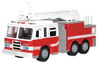 Автомодель Driven Mini - Пожарная машина со светом и звуком (WH1007Z)