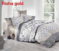 Постельное белье семейный комплектAltinbasak (Турция), Risha gold - семейный