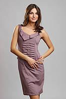 Платье-сарафан с оригинальным воротом П76, фото 1
