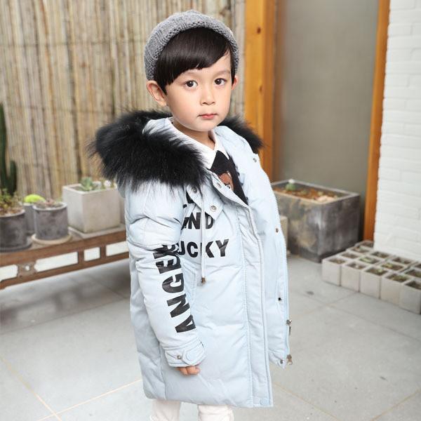 Детское пальто с принтом