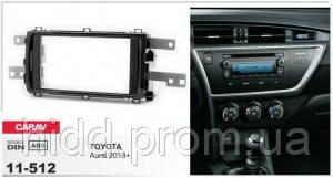 Переходная рамка Toyota Auris 2013+ (Gloss Black) CARAV 11-512