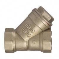 Фильтр муфтовый осадочный латунный для воды VALTEC, Ру16