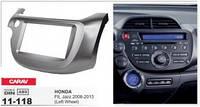 Переходная рамка Honda Fit, Jazz 2008-2013  (Left Wheel / Dark Grey) CARAV 11-118