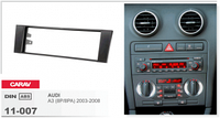 Переходная рамка Audi 1 DIN A3 (8P/8PA) 2003-2008 CARAV 11-007