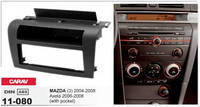 Переходная рамка Mazda 1DIN 3 2004-2008; Axela 2006-2008 w/pocket CARAV 11-080