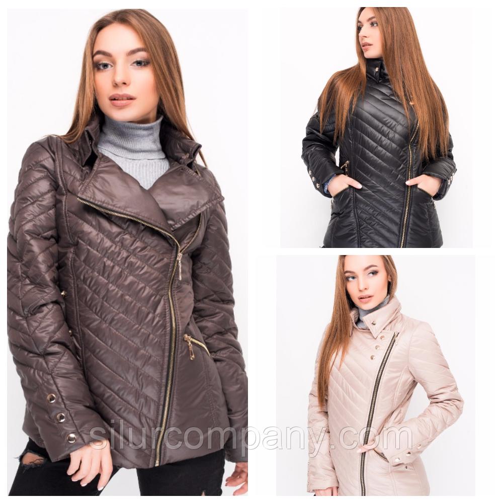 2671caadf90 Женская осенняя куртка в разных цветах - Интернет магазин
