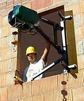Подъем стройматериалов на этаж