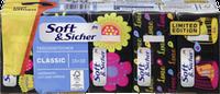 Бумажные носовые платки Soft & Sicher, 15 x10 шт.