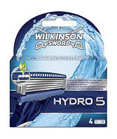 Wilkinson Sword Hydro 5 Лезвия 4 шт