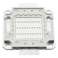 Светодиодная матрица прожектора желтая (30 Вт)