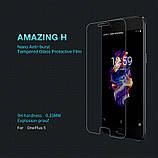 Nillkin OnePlus 5(A5000)Amazing  H Nanometer Anti-Explosion Tempered Glass Screen Protector Защитное Стекло, фото 5