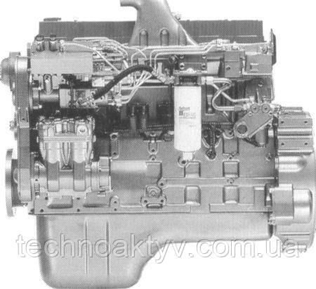 Двигатели Cummins серии QSC