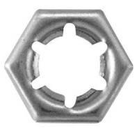 DIN 7967 Гайка самоконтрящаяся М6  стопорная пружинная из нержавеющей стали