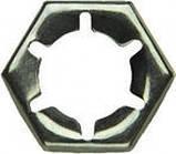 DIN 7967 Гайка самоконтрящаяся М10 стопорная пружинная из нержавеющей стали , фото 2