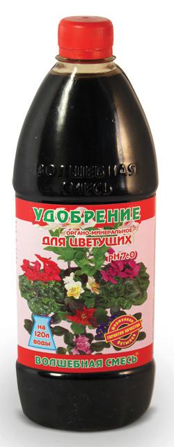 Добриво Чарівна суміш 0,5 л (для квітучих) 4550.004 Kvitofor