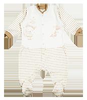 Комбинезон из нежного интерлока для мальчиков и девочек Ляля 8Т0104 р.68-86
