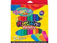 Пластилин 24 цветов, ТМ Colorino (42642PTR)