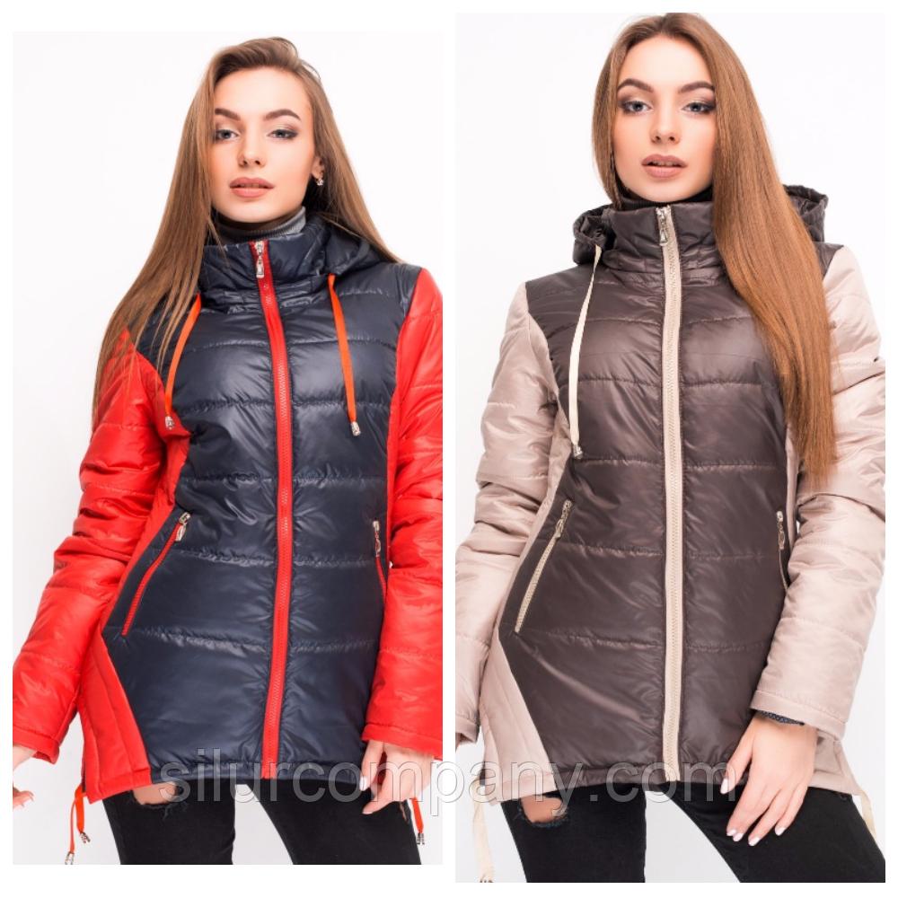 710bed4bfa8 Женская куртка осень-весна из плащевой ткани  продажа