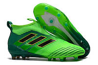 Футбольные бутсы adidas ACE 17+ PureControl FG Solar Green/Core Black/Core Green, фото 1