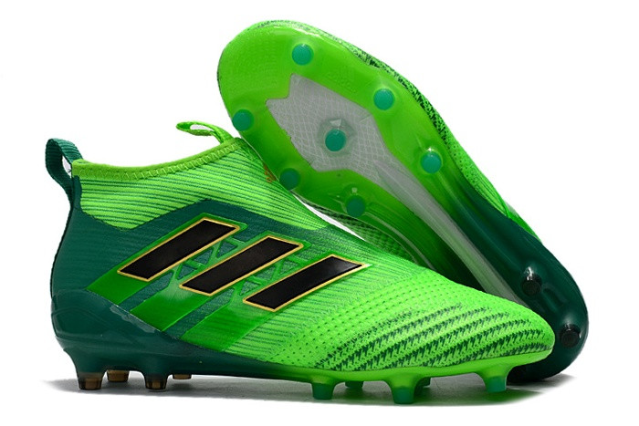 7c5d7254 Футбольные бутсы adidas ACE 17+ PureControl FG Solar Green/Core Black/Core  Green