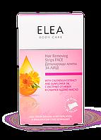 Восковые полоски для лица 20 шт+15 г Elea Skin Care