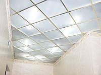 Стеклянные потолки матированные