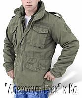 Куртки-парки модель типа М-65 с Gore-Tex (SympaTex) мембраной оригинал Австрия (олива)