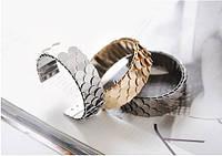 Женский браслет в золоте чешуйки, фото 1