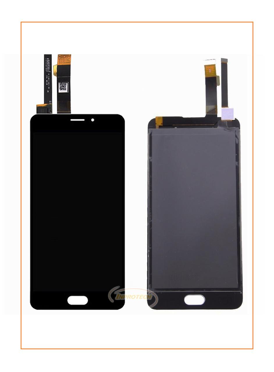 Дисплей Meizu M3e с сенсором (тачскрином) Black Original