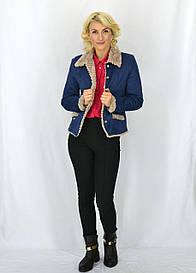 Молодежная курточка синего цвета Джессика
