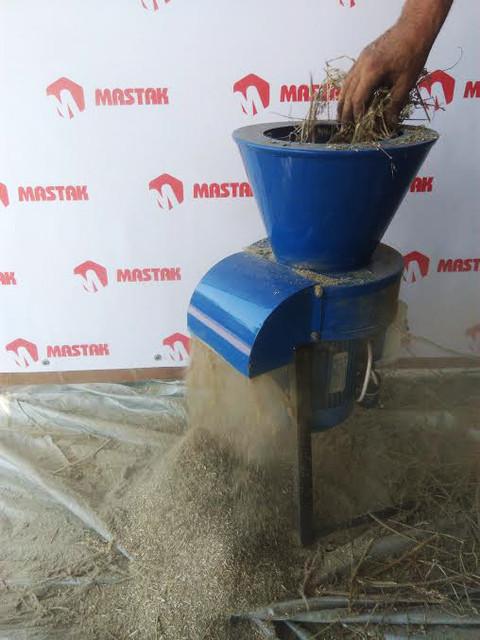 Сенорезка РИТМ - измельчитель травы под гранулирование!