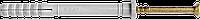 Дюбель з уд.ш.6/60 поліпр.бурт.Е