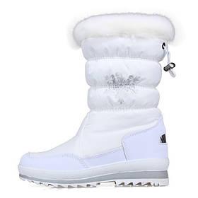 Сапоги зимние снежинка