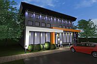 Архитектурное проектирование коммерческих зданий