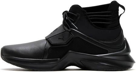 Женские кроссовки Puma Fenty Trainer High Black, фото 2 5ed183df4e2