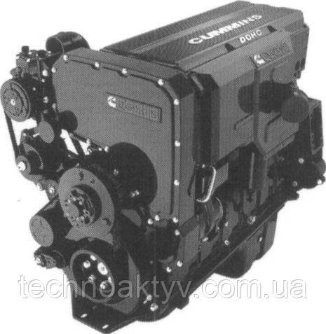Двигатели Cummins серии QSX