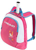Детский теннисный рюкзак на 1 ракетку HEAD Kids Backpack 2017 726424366569 розовый