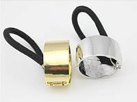Резинка для волос кольцо металл, фото 1