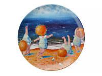 """Тарелка """"Утренняя гимнастика """" от Гапчинской 924-204"""